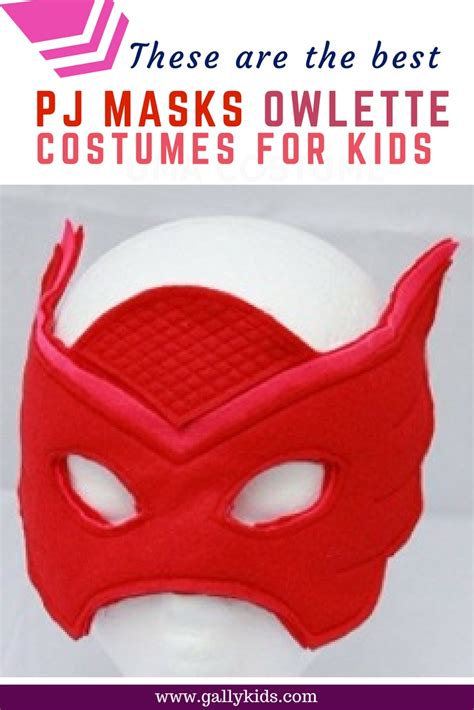 pj masks owlette costumes  toddlers  older kids