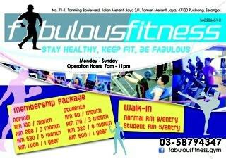 strength staying fit and fabulous books stay fit at fabulous fitness puchong