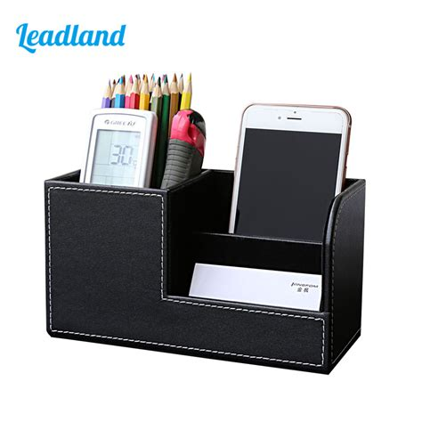 desk pen holder multi function desk stationery organizer pen pencil holder