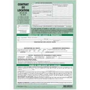 bail location meuble gratuit 195 imprimer