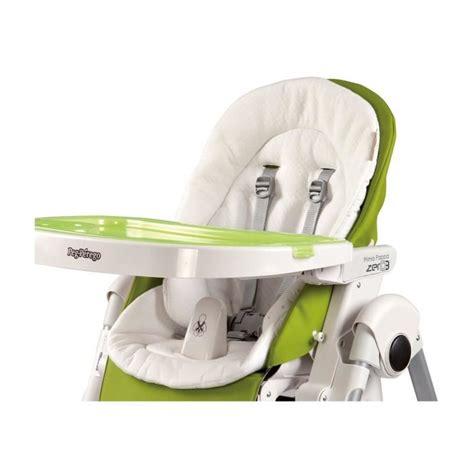 reducteur chaise haute peg perego coussin r 233 ducteur chaise haute coloris blanc