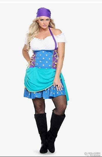 size halloween costumes gypsy sexy  size