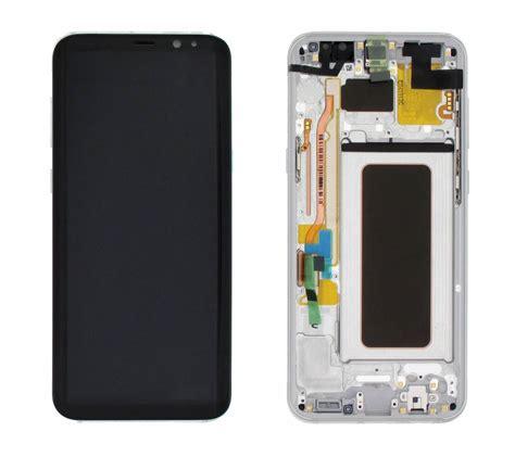 Lcd Samsung S8 samsung g955f galaxy s8 plus lcd display module arctic silver gh97 20470b dutchspares