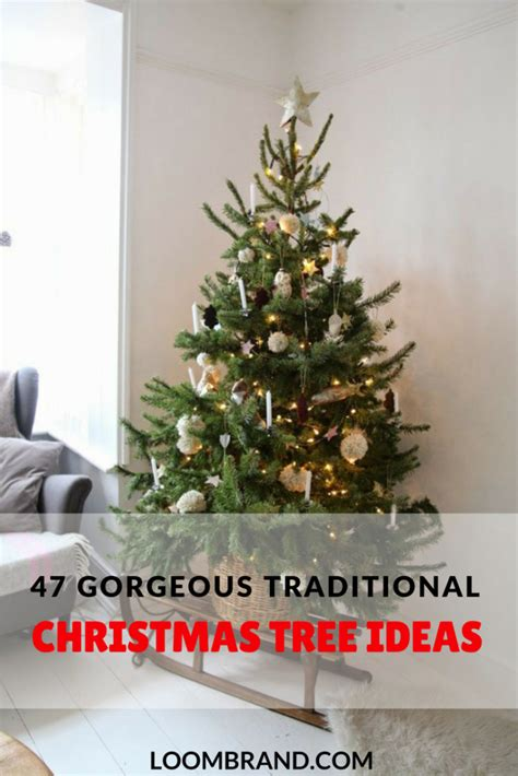 why is a christmas tree a tradition 47 gorgeous traditional tree ideas loombrand