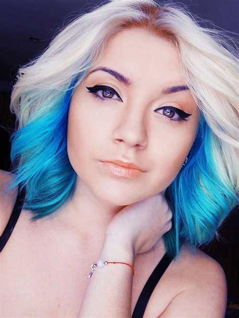 blue new hairdo ombre highlights for short bob newhairstylesformen2014 com