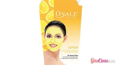 Masker Wajah Revlon ovale mask lemon gitacinta