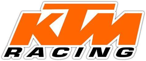 Ktm Racing Aufkleber by Pin Sticker Logo Ktm On Pinterest