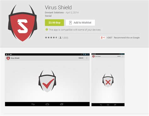 virus scan android popular virus scan app outed as a scam and pulled from play