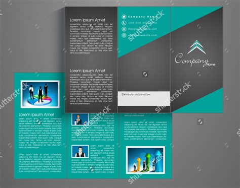 Tri Fold Brochure Templates 56 Free Psd Ai Vector Eps Format Download Free Premium Corporate Tri Fold Brochure Template