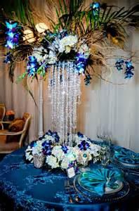 peacock table centerpieces peacock wedding centerpieces wedding and bridal inspiration