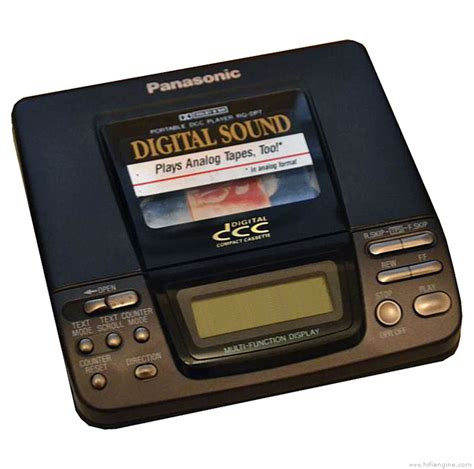 digital cassette panasonic rq dp7 manual portable digital compact