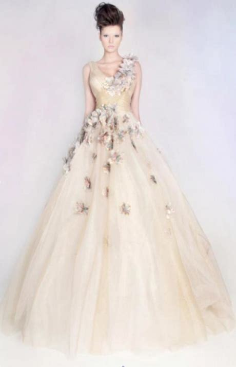 abiti sposa fiori abiti da sposa a fiori