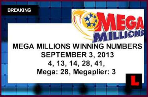 Mega Money Winning Numbers - friday mega millions winning numbers bing images