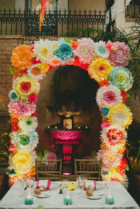 festive ideas   mexican wedding theme