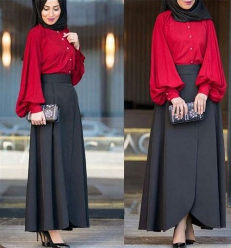 long skirt and blouse muslimah 2353 best hijab outfit images on pinterest hijab outfit