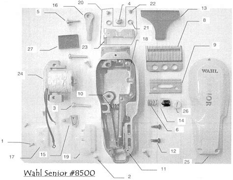 wahl clipper parts diagram 301 moved permanently