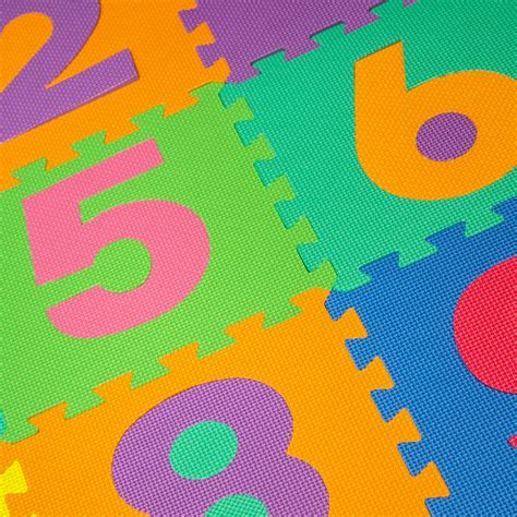 Puzzle Mat Walmart by Trademark 96 Foam Floor Alphabet And Number Puzzle