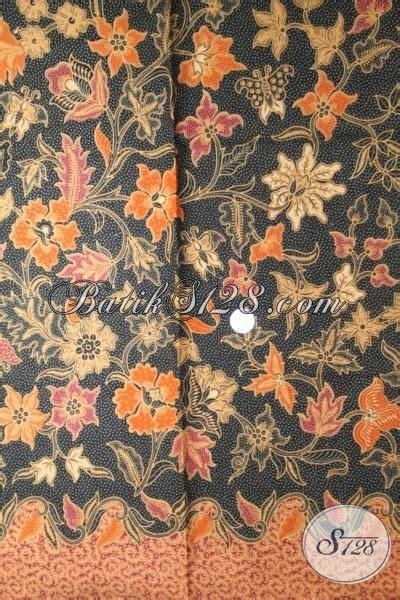 Kain Batik Tulis Lasem Motif Bunga terlihat anggun batik print lasem motif bunga model baju