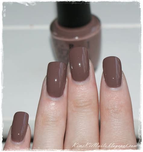 show me the color taupe kimskie s nails opi the taupe