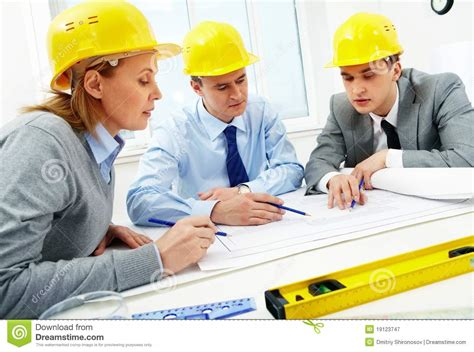How To Read Architectural Plans by Architects At Work Royalty Free Stock Photography Image
