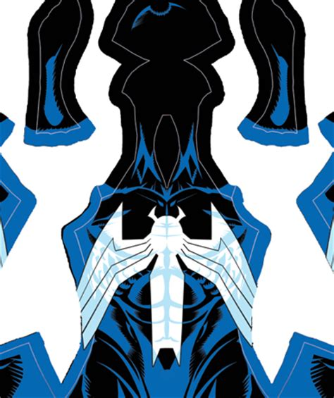 spiderman head pattern mark bagley venom pattern