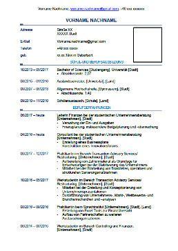 Lebenslauf Deutschland Muster by Lebenslauf Downloaden Englisch E Fellows Net
