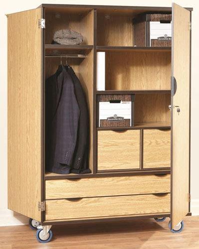 Wardrobe Vs Cupboard Deluxe Wood Heavy Duty Mobile Storage Wardrobe Cabinet W