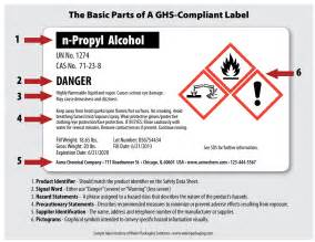 are you ready for ghs chemical labeling