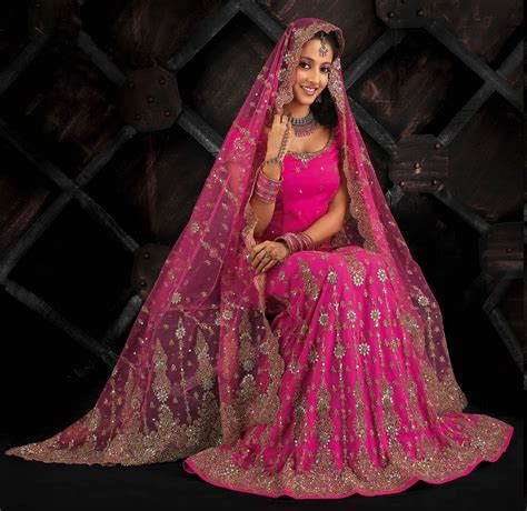 The rise of pink Asian bridal wear   Secret Wedding Blog