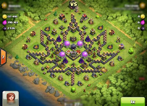 coc layout funny clash of clans funny base designs gamerizedtv