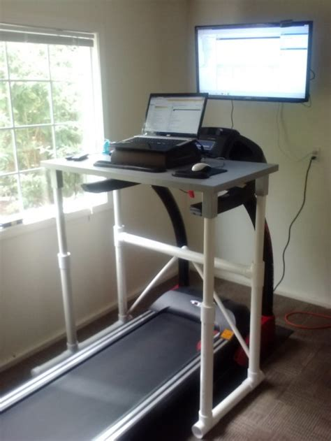 Treadmill Computer Desk How To Build A Treadmill Desk Live Active Fitness