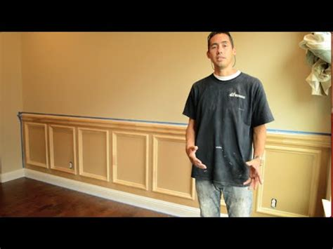 wainscot installation recessed panel wainscoting installation how to install