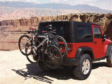 Mopar Jeep Bike Rack by Mopar To Offer More Than 250 Accessories For New 2012 Jeep