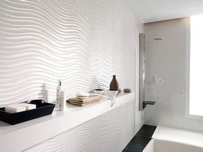 white wavy tile   Bathrooms   Pinterest   Tile