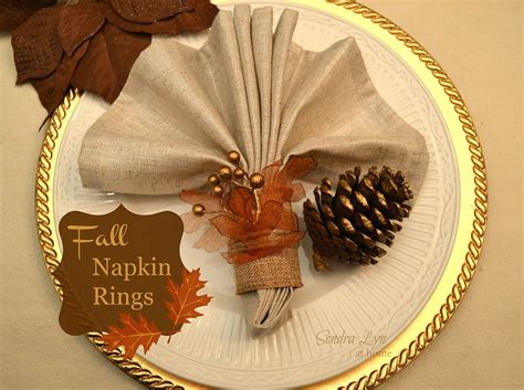 Tips For Organizing Your Bedroom hometalk diy fall napkin rings