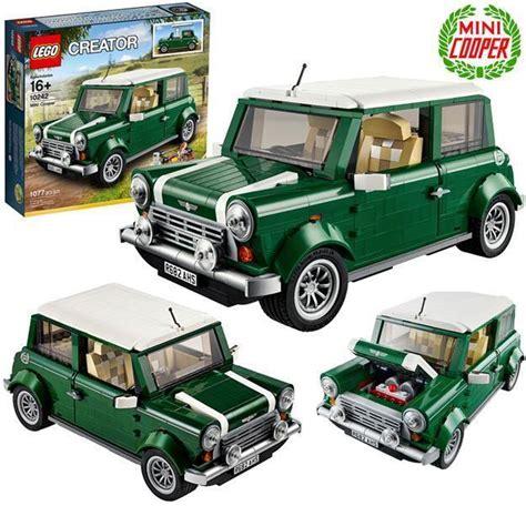 Lego 10242 Mini Cooper Hijau lego mini cooper 171 de brinquedo