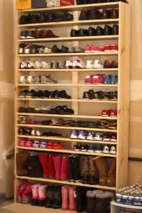 Furniture cool diy shoe rack with wooden design diy shoe