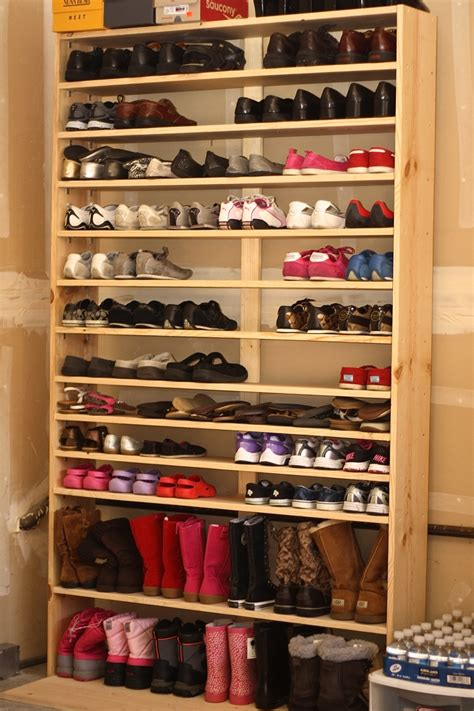 diy shoe rack design furniture cool diy shoe rack with wooden design diy shoe