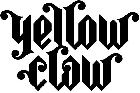 Sweater Hoodie Barong Family Yellow Claw bfm black logo hoodie yellow claw