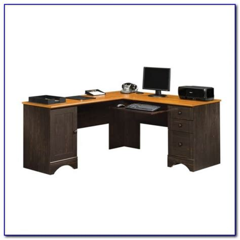 Sauder Corner Desk With Hutch Desk Home Design Ideas Sauder Corner Computer Desk With Hutch