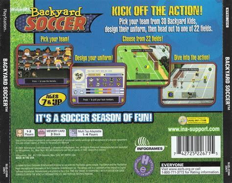 Backyard Ps3 by Backyard Soccer U Iso