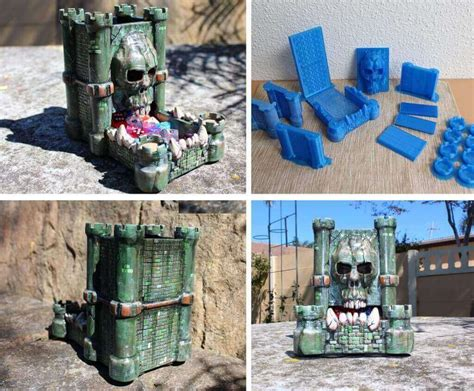 printable dice tower 3d print a diy dice tower for rpg or tabletop games