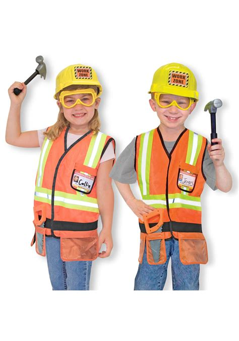melissa and doug kids construction costume role play