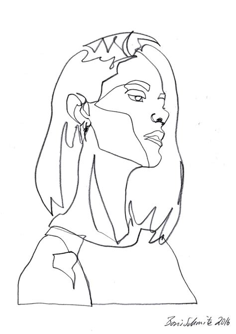 doodle line drawings best 25 contour line drawing ideas on contour