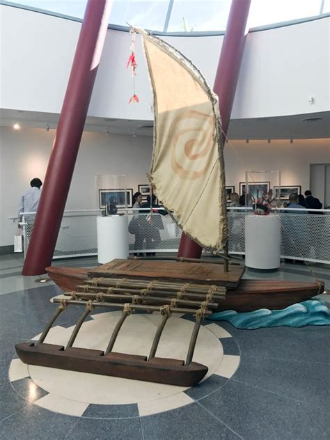 moana boat prop go behind the scenes with the moana blu ray this fairy