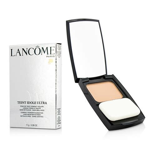 Lancome Matte Foundation teint idole ultra compact powder foundation wear