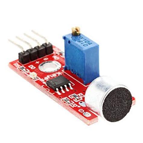 Arduino Sound Detection Module arduino sound sensor summerfuel robotics