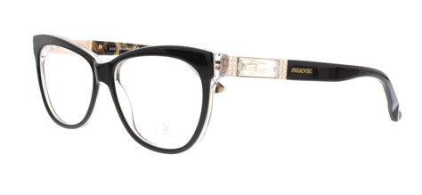 swarovski eyeglasses sk5091 005 black 56mm ebay