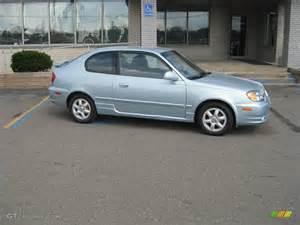 Hyundai 2005 Accent 2005 Glacier Blue Hyundai Accent Gt Coupe 16274285