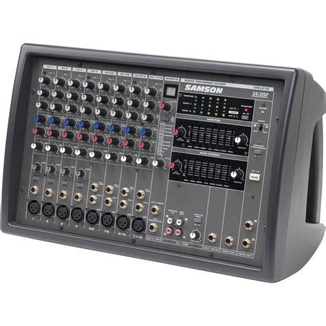 Audio Mixer Linkmaster 12 Channel 12 Ch Mono samson xml610 12 channel 600w powered mixer saxml610 b h photo